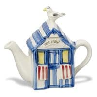 Beach Hut Teapot | Novelty Teapot | Carters Teapot